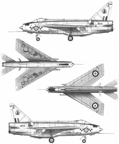 BAC Lightning F.1A