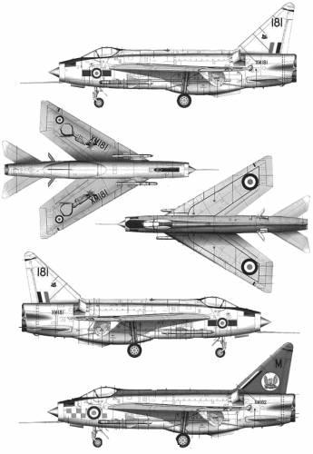 BAC Lightning F.2