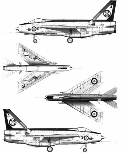 BAC Lightning F.3