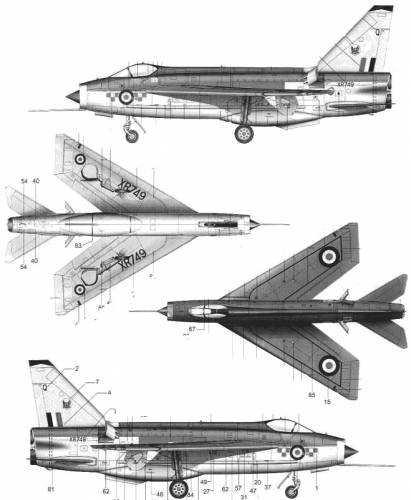 BAC Lightning F Mk.3