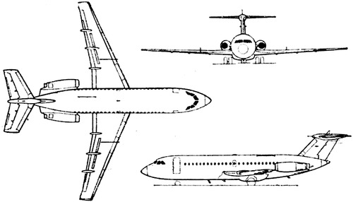 BAC One-Eleven Series 475