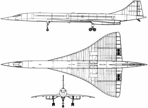 BAC-Sud Aviation Concorde