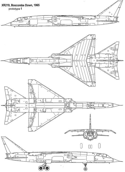 BAC TSR.2 (XR219 1965)