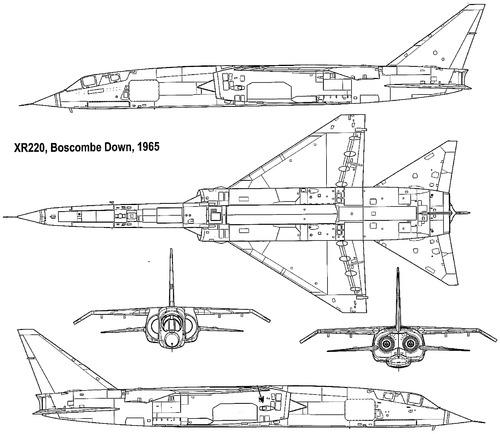 BAC TSR-2 XR220 1965