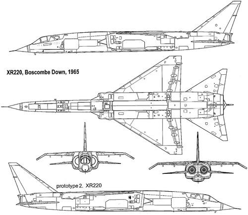 BAC TSR.2 (XR220 1965)
