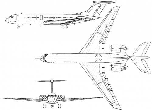 BAC (Vickers) VC-10 / Super VC-10 (England) (1962)
