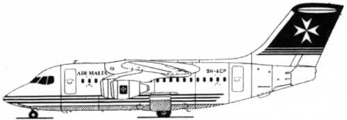 BAe 146-100
