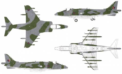 BAe Harrier GR9A