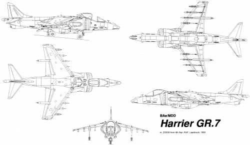 BAe-McDonnell-Douglas Harrier GR.7