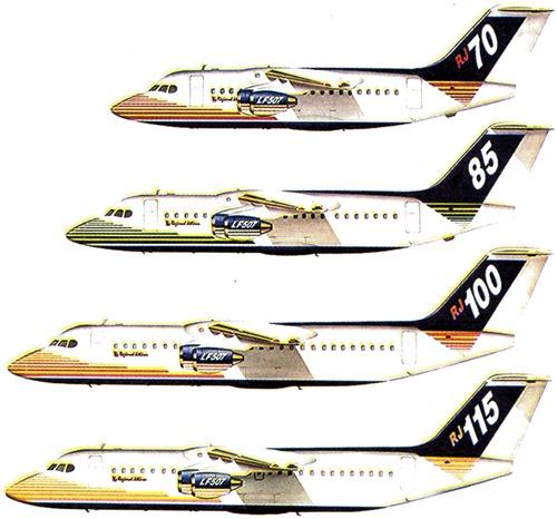 British Aerospace 146 Regional Jetliner
