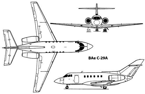 British Aerospace BAe 125 C-29A
