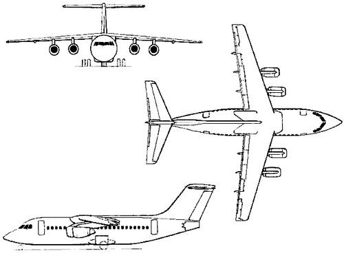 British Aerospace BAe 146-100 Statesman