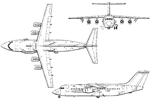 British Aerospace BAe 146-300 ARA