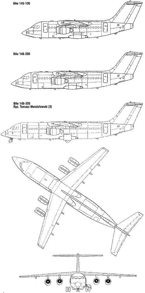 British Aerospace BAe 146 Regional Jetliner