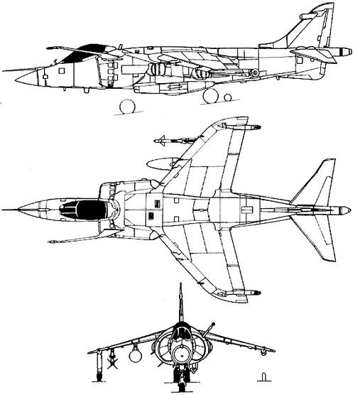 British Aerospace BAe Harrier FRS.1