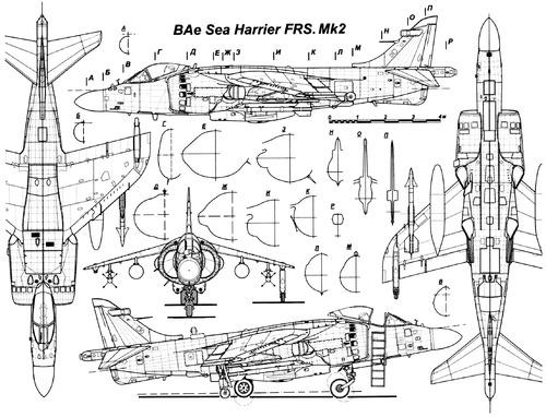 British Aerospace BAe Harrier FRS.2