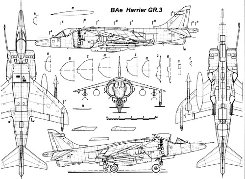 British Aerospace BAe Harrier GR.3