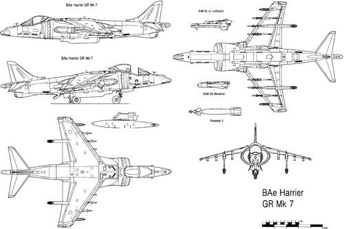 British Aerospace BAe Harrier GR.7
