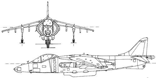 British Aerospace BAe Harrier GR Mk.5