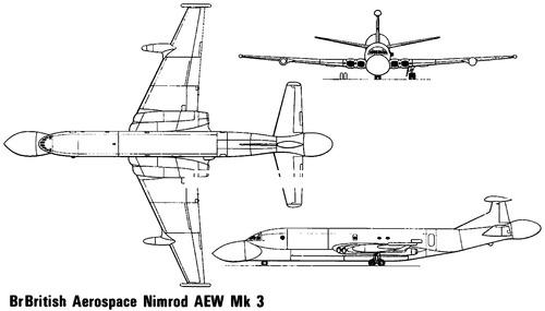 British Aerospace BAe Nimrod AEW.3