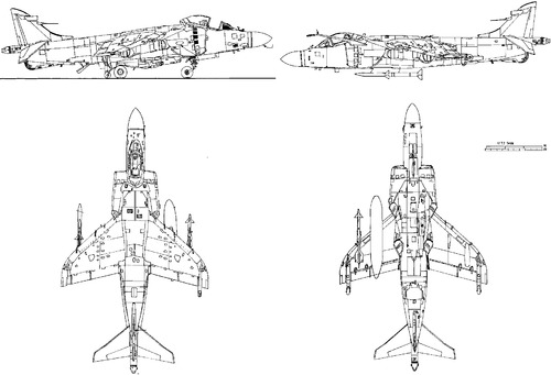British Aerospace BAe Sea Harrier F-A2