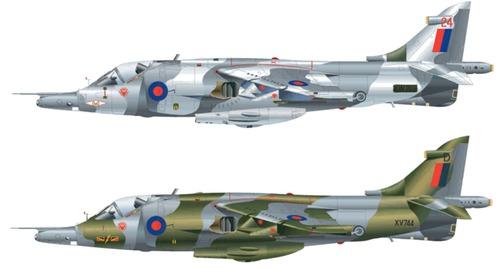 British Aerospace Harrier Gr.3