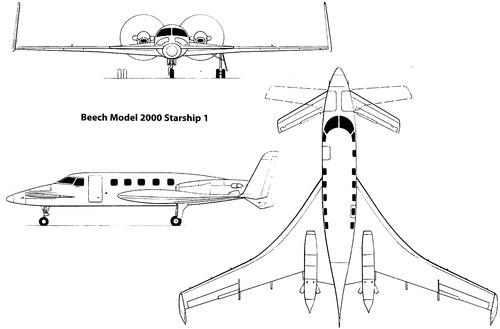 Beechcraft 2000 Starship