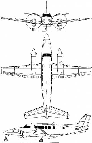 Beechcraft 99A Airliner