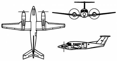 Beechcraft C-12 Super King Air B200