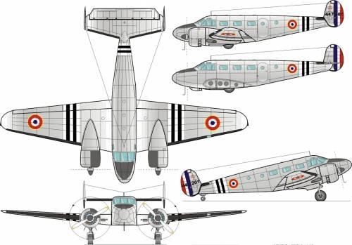 Beechcraft C-45 F