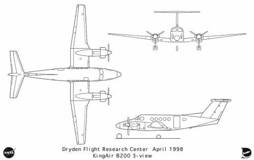Beechcraft KingAir B-200
