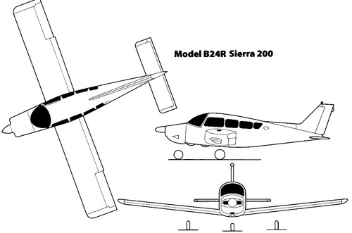 Beechcraft Model B27R Sierra 200