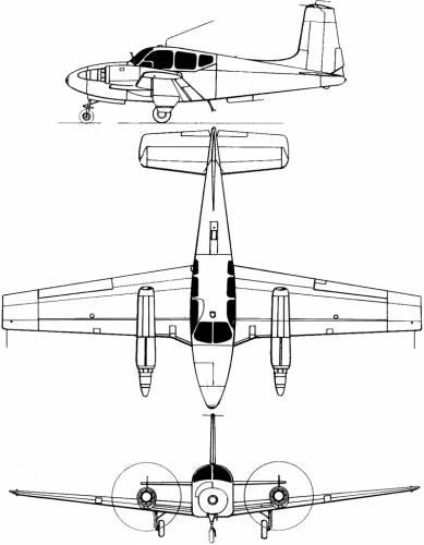 Beechcraft-SFERMA PD-146 Turbo Travelair