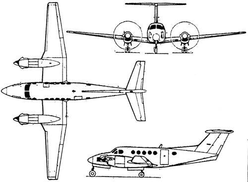 Beechcraft Super King Air 200