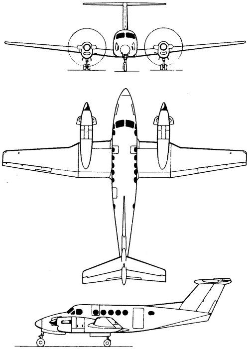 Beechcraft Super King Air 300 LW