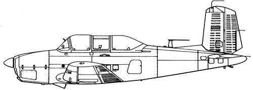 Beechcraft T-34B Mentor