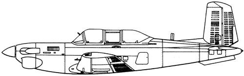 Beechcraft T-34C Turbo Mentor