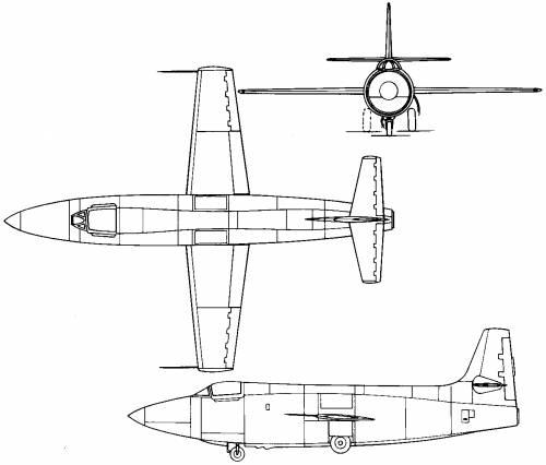 Bell X-1 (USA) (1946)