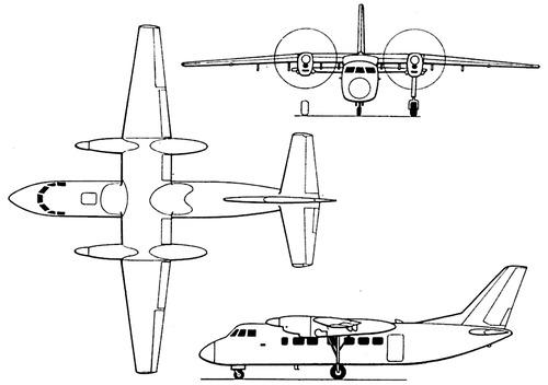 Beriev Be-32 Cuff