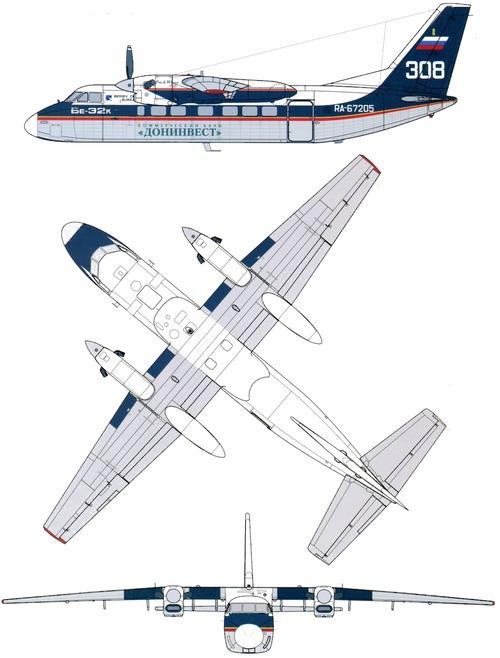 Beriev Be-32K Cuff