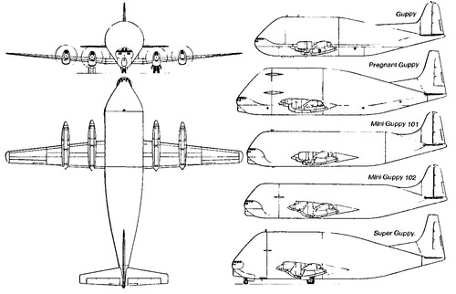 Boeing 377 Aero Spacelines Guppy