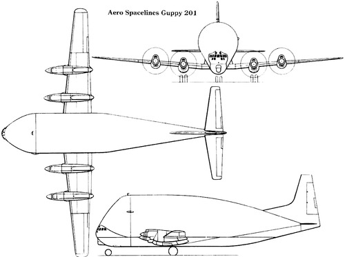 Boeing 377 Aero Spacelines Super Guppy 201