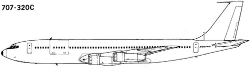 Boeing 707-320C