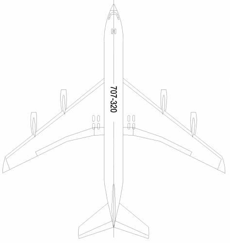 Boeing 707-320P
