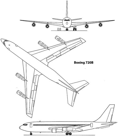 Boeing 720B