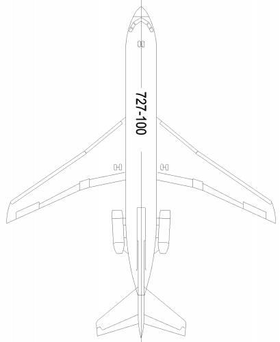 Boeing 727-100P
