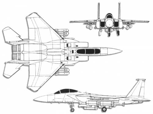 Boeing (McDonnell-Douglas) F-15E Strike Eagle