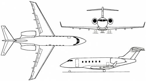 Bombardier BD-100 Challenger 300 (Canada) (2001)