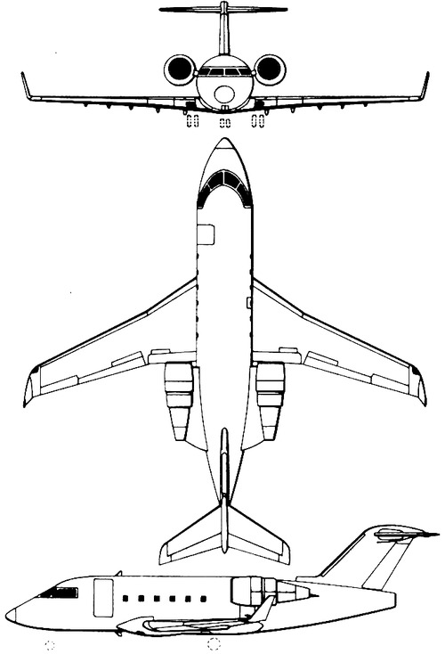 Bombardier Canadair Challenger 604