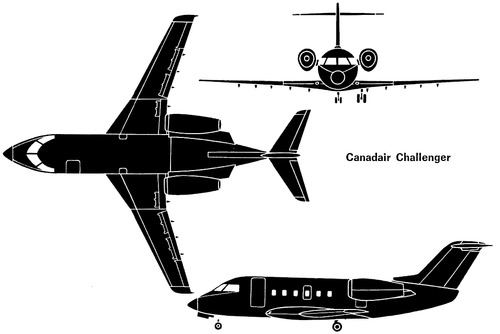 Bombardier (Canadair) CL-600 Challenger